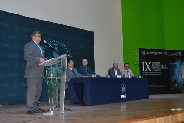 BUAP, sede de Congreso de Tecnología  Aplicada a Ciencias de la Salud