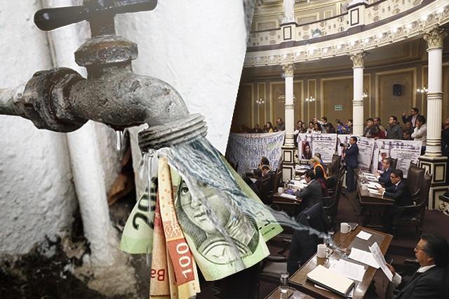 Congreso sigue sin conocer contrato con Agua de Puebla