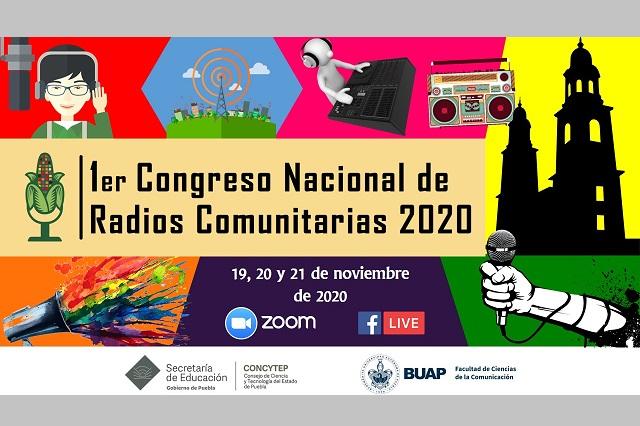 Congreso de Radios Comunitarias tendrá sede en Comunicación BUAP