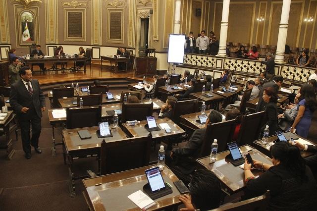 El de Puebla entre los 10 Congresos estatales con más diputados