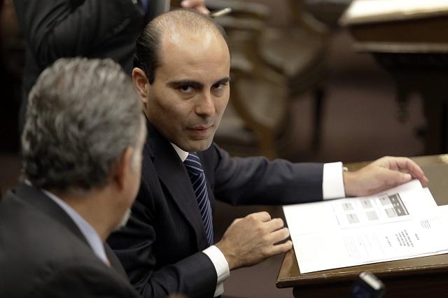 Congreso va contra Aguilar por desfalco de 10 mdp; él lo niega