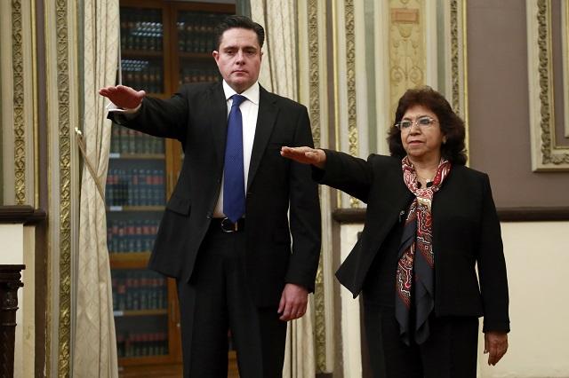 Ya son nuevos magistrados notario y ex síndico de Puebla