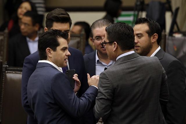 Acusa Morena revanchismo de Gali; PAN señala incapacidad legislativa
