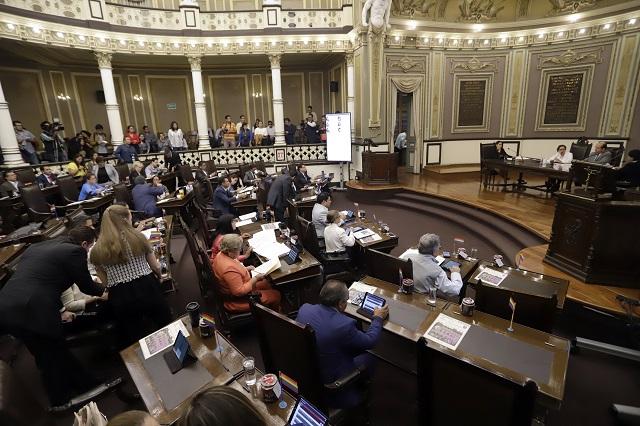 Ni medio Congreso informa de visitas a sus distritos en Puebla