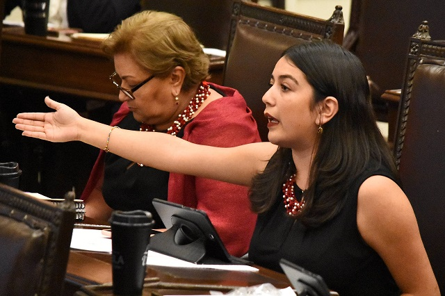 Buscan descontar sueldo a diputados por insultos y violencia