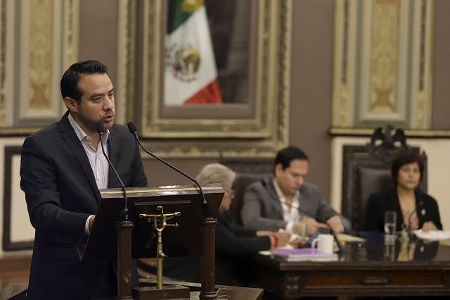 Oswaldo Jiménez, coordinador del PAN en el Congreso estatal