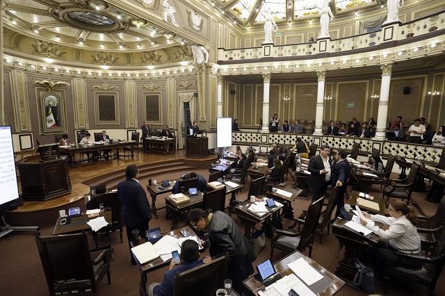 Con secrecía Congreso de Puebla contrata obras de rehabilitación
