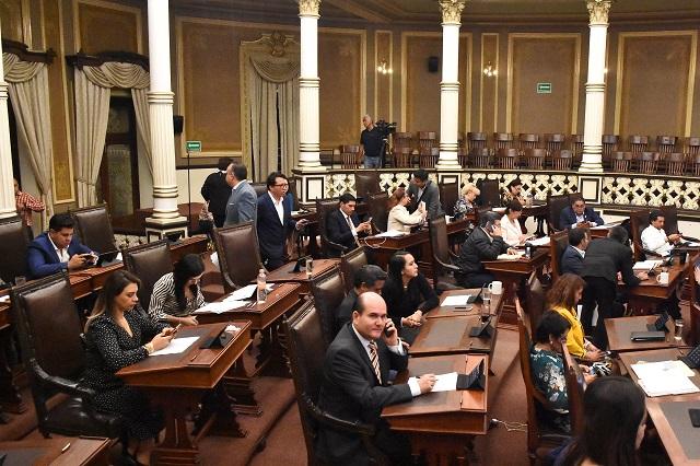 Llegan 9 legisladores al Congreso para suplir a chapulines