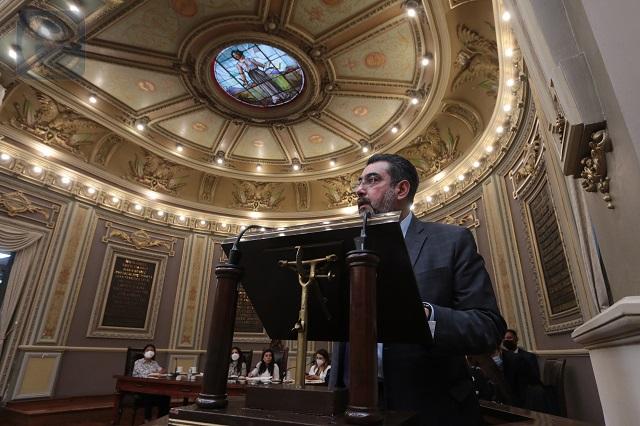 Avala Congreso del Estado integración de 35 comisiones