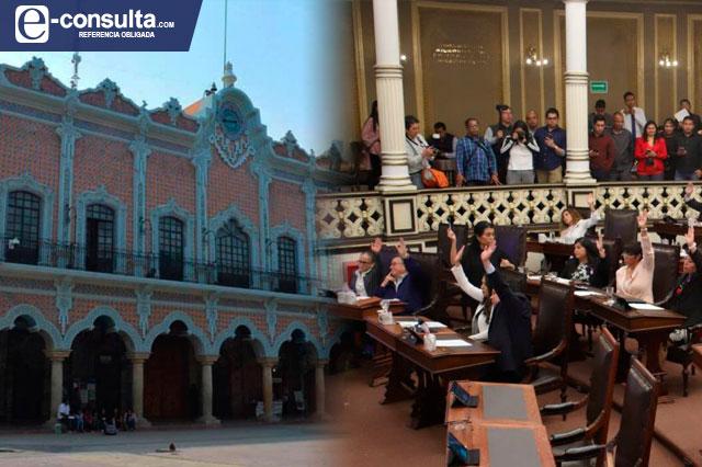 Sin mayoría calificada imponen extinción del Cabildo de Tehuacán