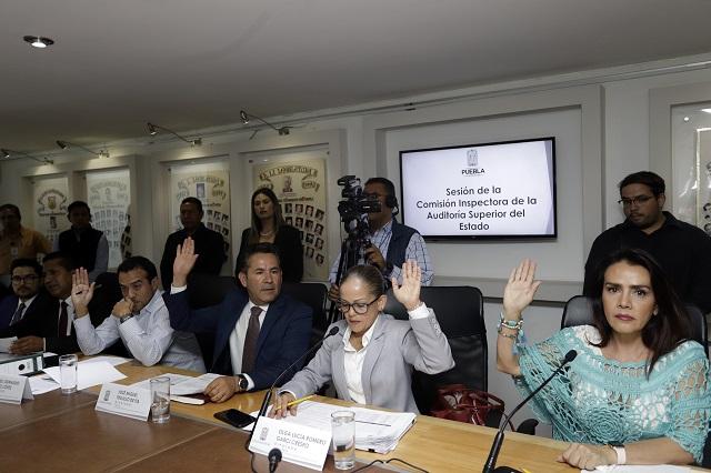 Diputados exigen a la ASE auditar obras emblemáticas de RMV y Gali