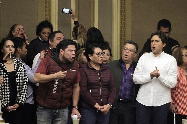 Demandan diputados de Morena juicio y renuncia de RMV y Gali