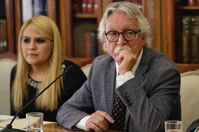 Confirma Barbosa renuncia de Glockner a la Secretaría de Cultura