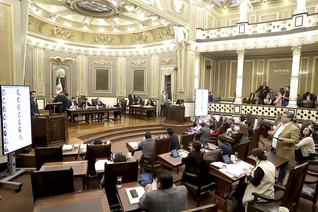 CNDH impugna otra reforma del Congreso de Puebla