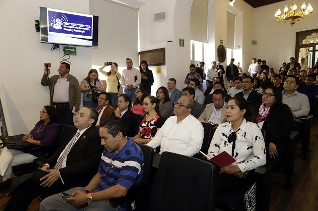 Concluyen análisis para secretaría de ciencia y tecnología en Puebla