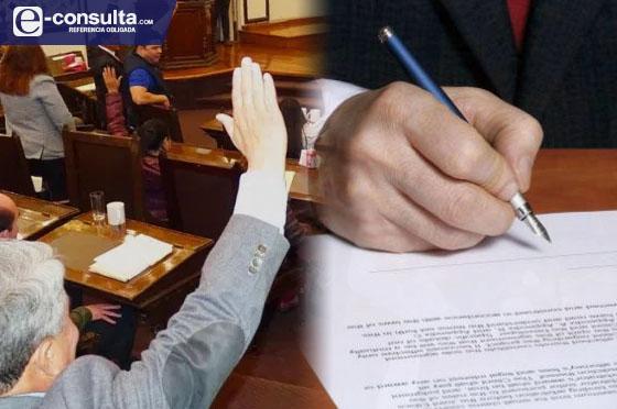 Aprueban sin cambios ley de Barbosa que facilita la entrega de notarías