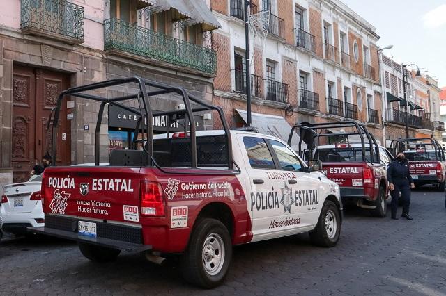 Patrullas mejoraron percepción de seguridad en Puebla: Barbosa