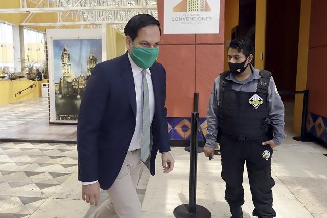 Kuri opaca a Raciel: dice que en Puebla hay 1 asalto al año