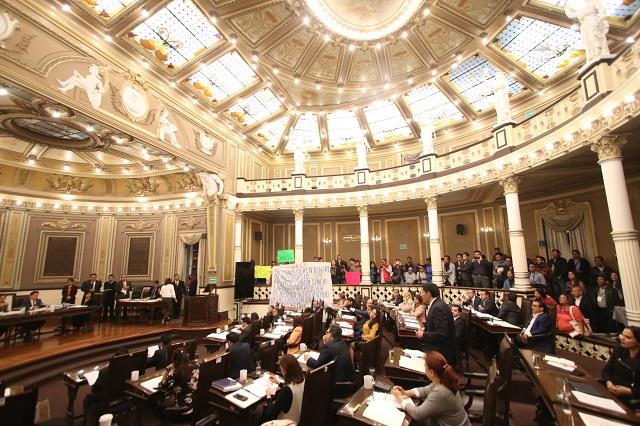 A falta de consenso alargarían designación de interino en Puebla