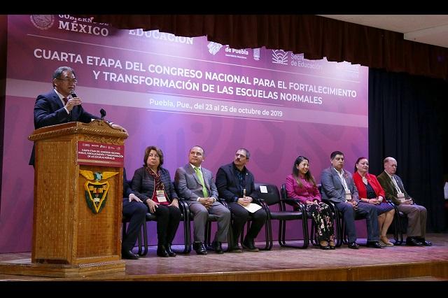 Puebla, sede de Encuentro Nacional de Escuelas Normales