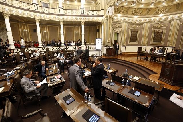 Reprueba Congreso evaluación de Transparencia Mexicana