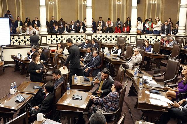 Congreso no discutirá reducción de prerrogativas a partidos políticos