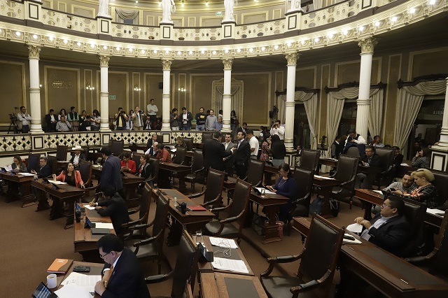 Diputados de Puebla estarán de vacaciones hasta el 6 de enero