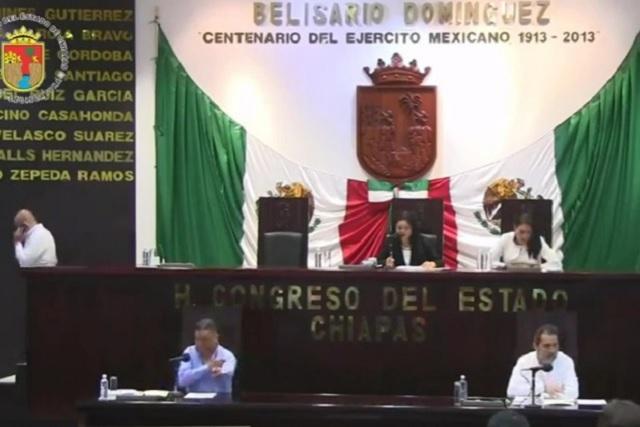 Congreso de Chiapas ordena retirar escoltas a ex gobernadores