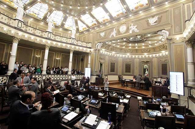 Congreso analiza reformas de seguridad al transporte en Puebla