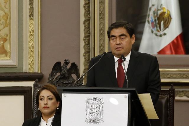 Puebla adeuda 44 mil mdp, revela Barbosa y anuncia auditorías