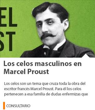 Los celos masculinos en Marcel Proust