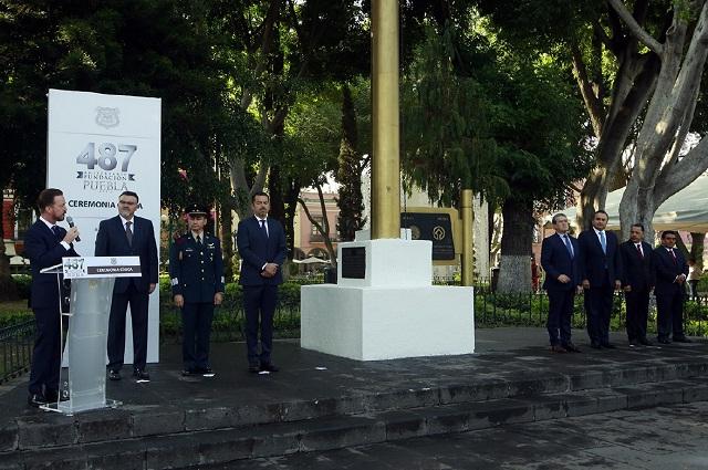 Gobierno municipal conmemora el 487 aniversario de la capital