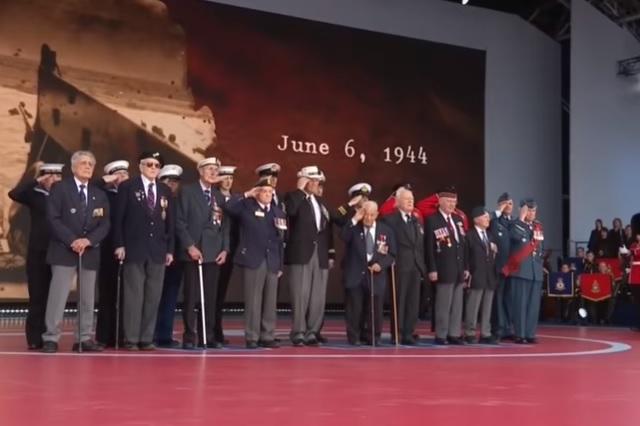 En Portsmouth, Inglaterra, se celebró el 75º aniversario del Día D