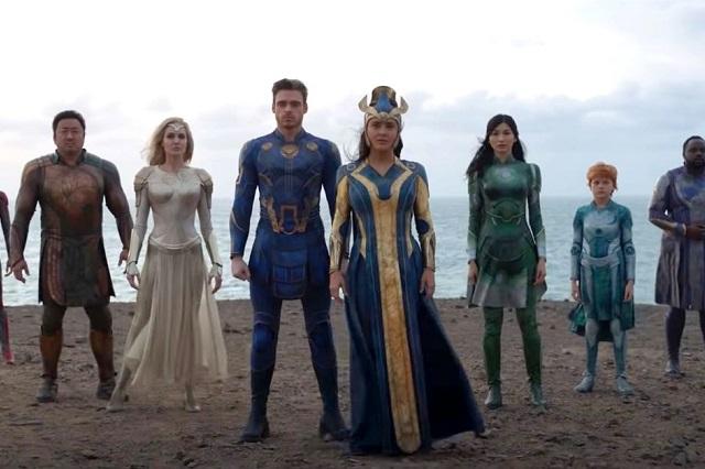 Ellos son los superhéroes que aparecen en The Eternals
