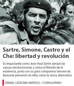 Sartre, Simone, Castro y el Che: libertad y revolución