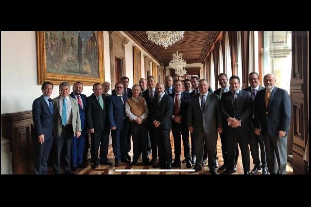 Alfonso Romo avala Consejo Asesor Empresarial Capítulo Puebla