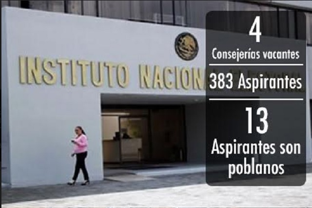 Buscan 13 poblanos alcanzar cuatro consejerías del INE