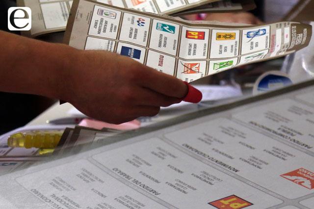 Error del IEE provoca tardía entrega de boletas electorales