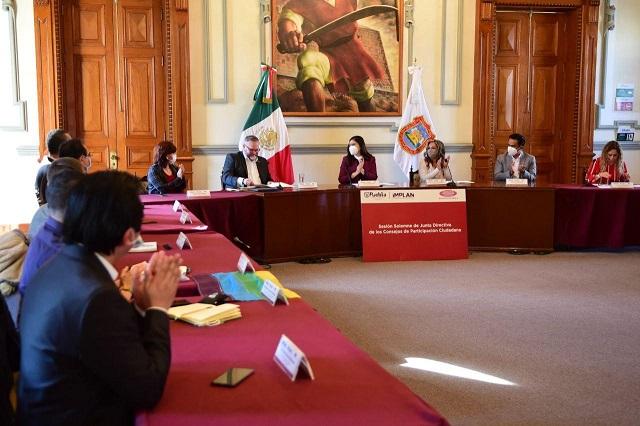 Nueva presidencia en Consejos de Participación Ciudadana en Puebla capital