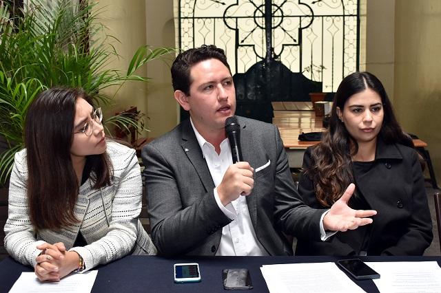 Piden universitarios de Puebla fiscal sin filiación política