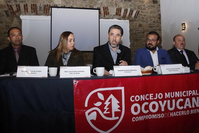 Ex edil de Ocoyucan dejó sin comprobar 61 mdp, revelan