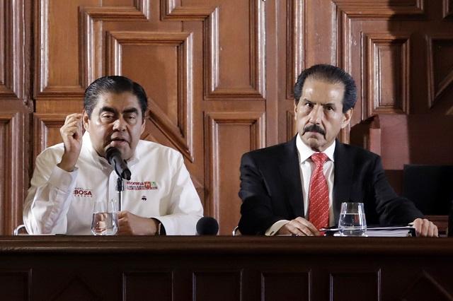 Enfrenté a Moreno Valle sin bajar la cabeza, dice Barbosa en la BUAP
