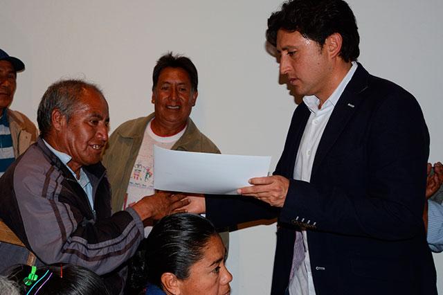 Rinden protesta Consejos de Participación Ciudadana en San Pedro Cholula