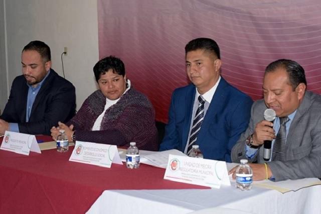 Karina Pérez Popoca encabeza primera sesión ordinaria del consejo municipal de mejora regulatoria