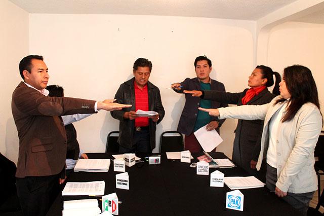 Instalan a los 26 Consejos Distritales en Puebla
