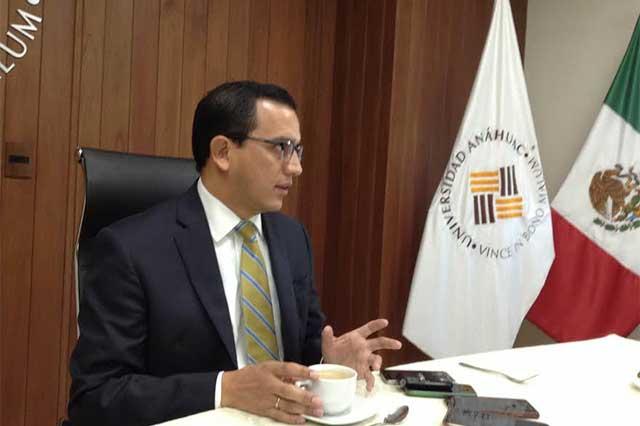 Piden rectores alejar tinte político de las cuentas de Eduardo Rivera