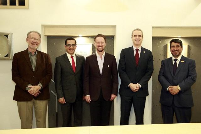 Banck comparte avances en seguridad con Consorcio Universitario de Puebla