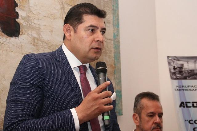 Si se repite elección, Barbosa será el candidato, dice Armenta