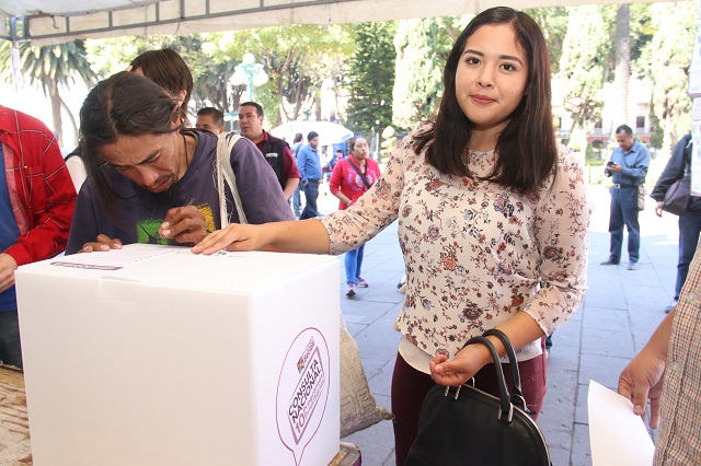 Consulta Tren Maya superaría los 50 mil participantes en Puebla