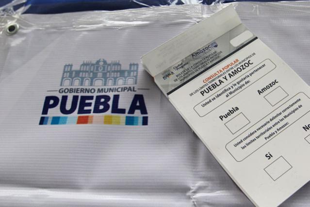 Reparte el Congreso 22 colonias entre Puebla y Amozoc